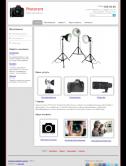 Сайт - продажа и прокат фототехники